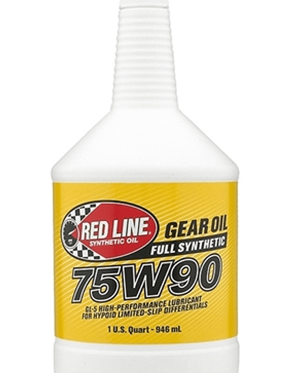 Aceite de caja 75W90 GL-5 RED LINE