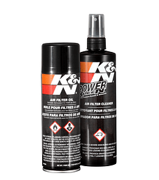 Kit de limpieza en spray K&N