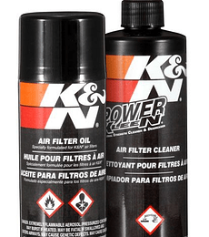 Kit de limpieza en spray K&N