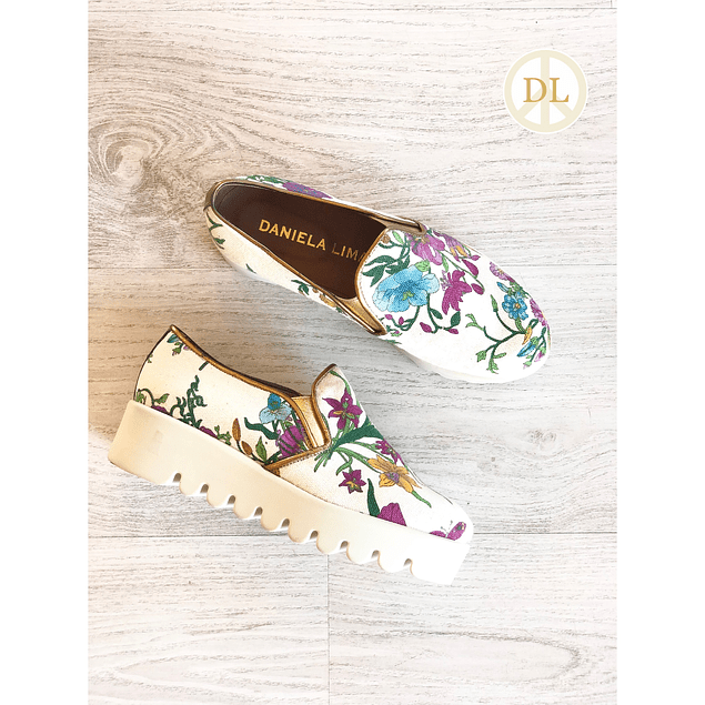 Flower Sneakers