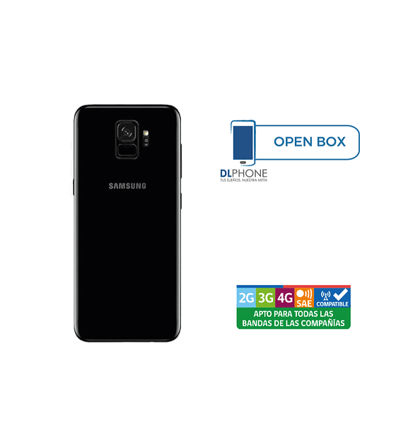 Samsung Galaxy S9 OPEN BOX NEGRO