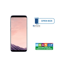 Samsung Galaxy S8 OPEN BOX VIOLETA