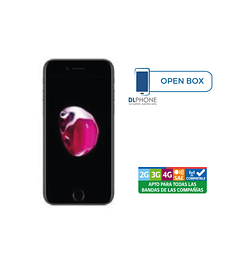 Iphone 7 de 128gb OPEN BOX NEGRO