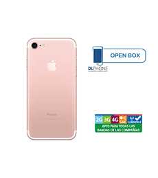 Iphone 7 de 128gb OPEN BOX ROSA