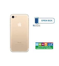 Iphone 7 de 128gb OPEN BOX DORADO