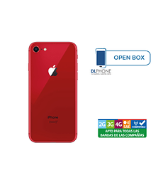 Iphone 8 de 64gb OPEN BOX ROJO