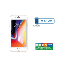 Iphone 8 de 64gb OPEN BOX DORADO