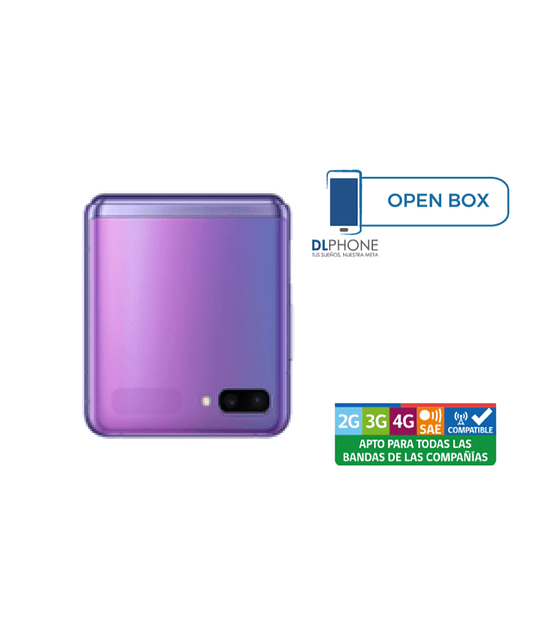 Samsung Galaxy Z FLIP OPEN BOX VIOLETA