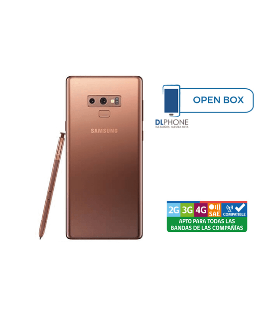 Samsung Galaxy NOTE 9 OPEN BOX COBRE
