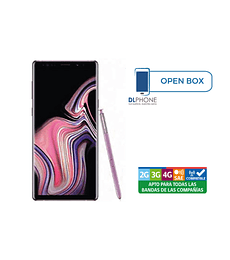 Samsung Galaxy NOTE 9 OPEN BOX VIOLETA