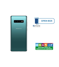 Samsung Galaxy S10 128GB OPEN BOX VERDE
