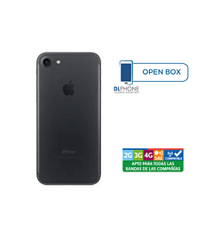 Iphone 7 de 256gb OPEN BOX NEGRO
