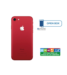 Iphone 7 de 256gb OPEN BOX ROJO