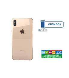 Iphone XS de 64gb OPEN BOX DORADO