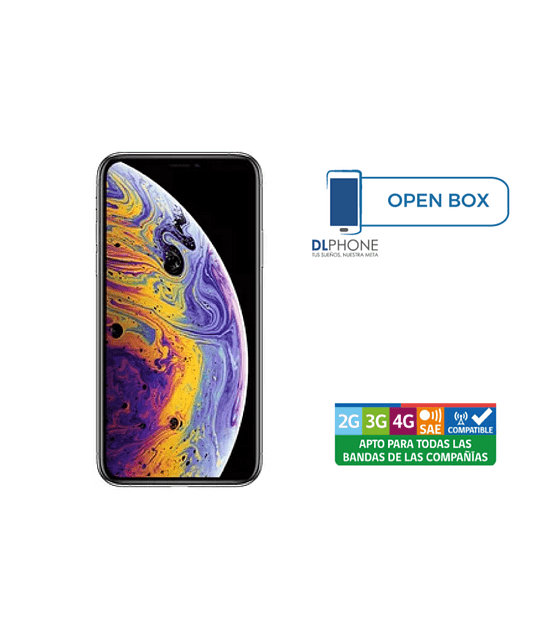 Iphone XS de 64gb OPEN BOX BLANCO