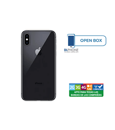 Iphone XS de 64gb OPEN BOX NEGRO