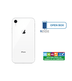 Iphone XR de 64gb OPEN BOX BLANCO