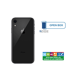 Iphone XR de 64gb OPEN BOX NEGRO