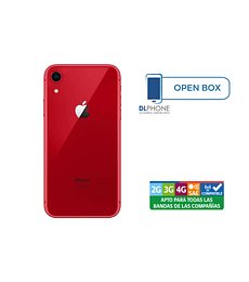 Iphone XR de 64gb OPEN BOX ROJO
