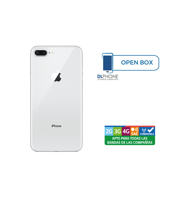 Iphone 8 Plus de 64gb OPEN BOX BLANCO