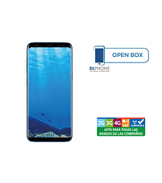 Samsung Galaxy S8 OPEN BOX AZUL