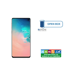 Samsung Galaxy S10 PLUS 128GB OPEN BOX BLANCO