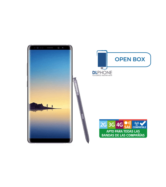 Samsung Galaxy NOTE 8 OPEN BOX VIOLETA