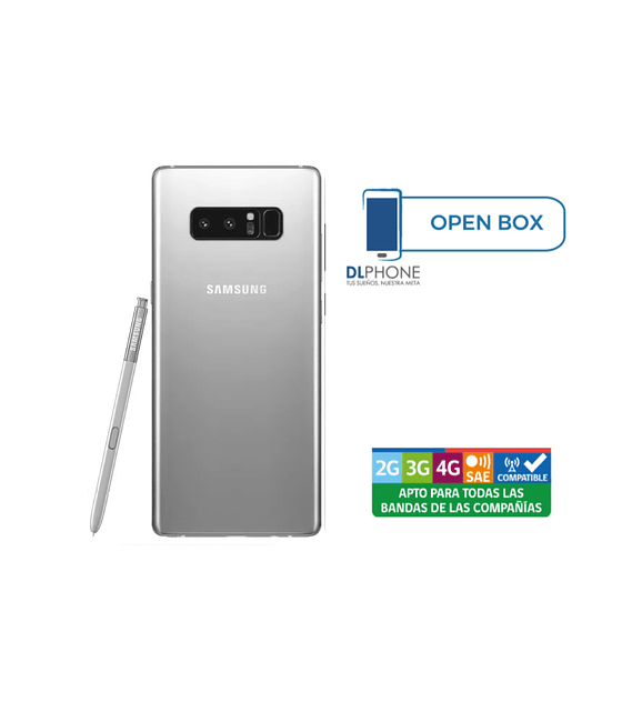 Samsung Galaxy NOTE 8 OPEN BOX PLATA