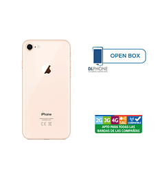 Iphone 8 de 256gb OPEN BOX DORADO