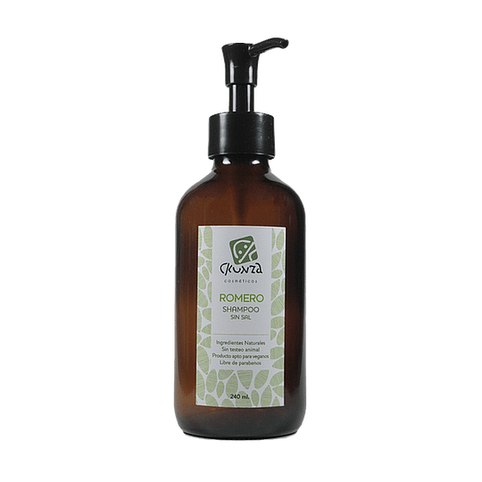 Shampoo de Romero sin sal 240ml