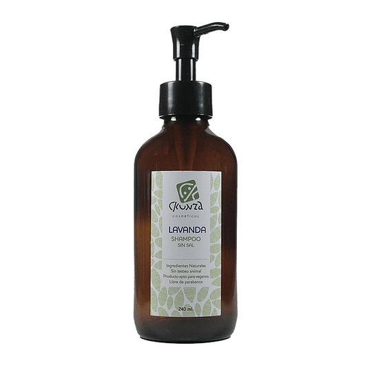 Shampoo de Lavanda sin sal 240ml