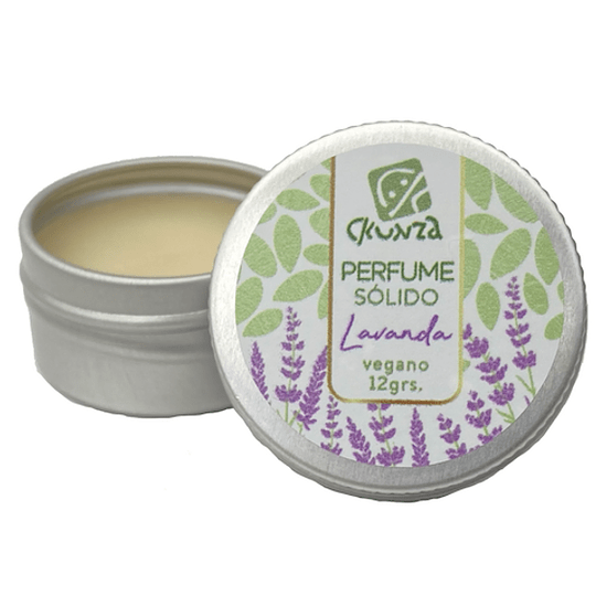 Perfume sólido de Lavanda 12g