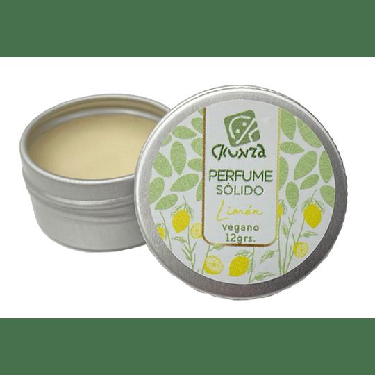 Perfume sólido de Limón 12g