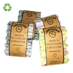 Jaboneras plástico reciclado relieves ( unidad)
