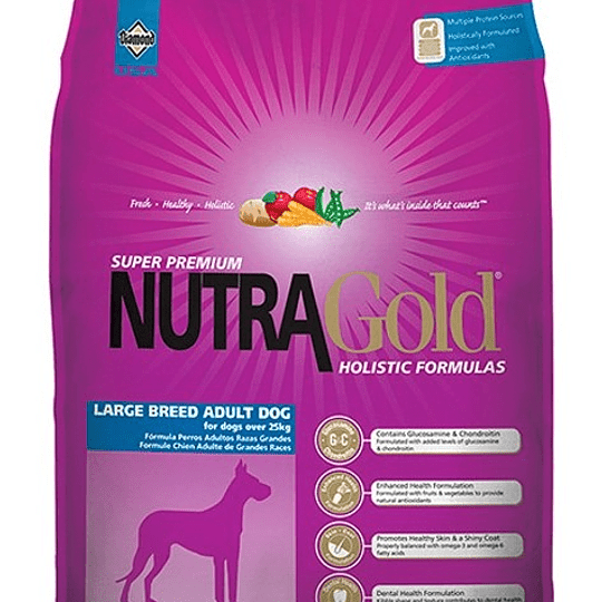 Nutra Gold Adult Large Breed (razas grandes) 15 kg
