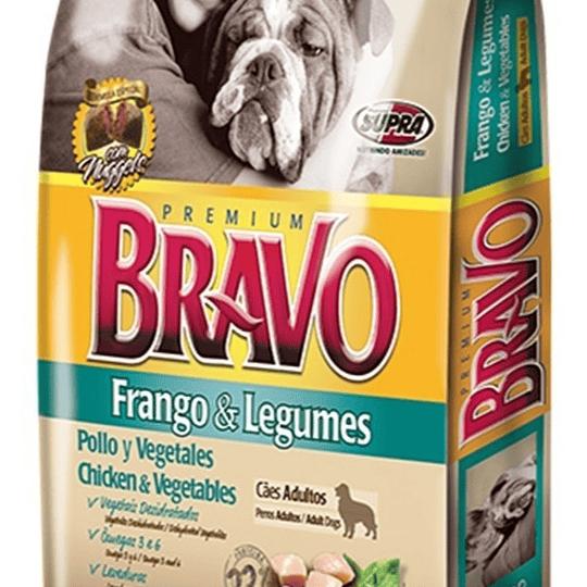 Bravo Adulto (pollo y vegetales) 20 Kg