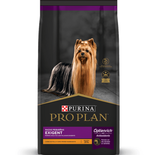 Pro Plan Exigent (razas pequeñas) 7.5 Kg