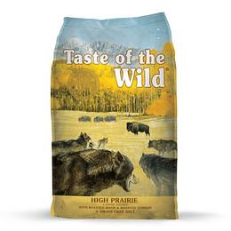 Taste of the Wild Pacific High Prairie (bisonte asado y venado asado) 12.2 Kg