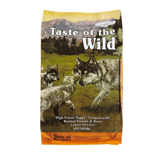 Taste of the Wild Pacific High Prairie Puppy (bisonte asado y venado asado) 12.2 Kg
