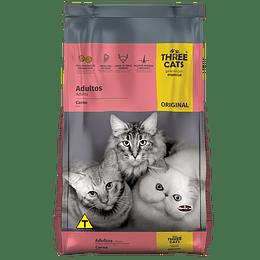 Three Cats Original Adulto Carne 10,1 kg