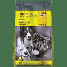 Three Dogs Original Adultos Razas Medianas y Grandes 10,1 kg