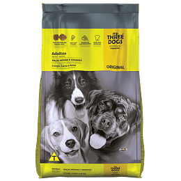 Three Dogs Original Adultos Razas Medianas y Grandes 15 kg