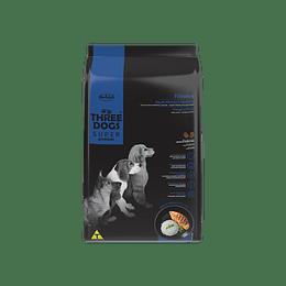 Three Dogs Súper Premium Cachorros Razas Medianas y Grandes 10,1 kg