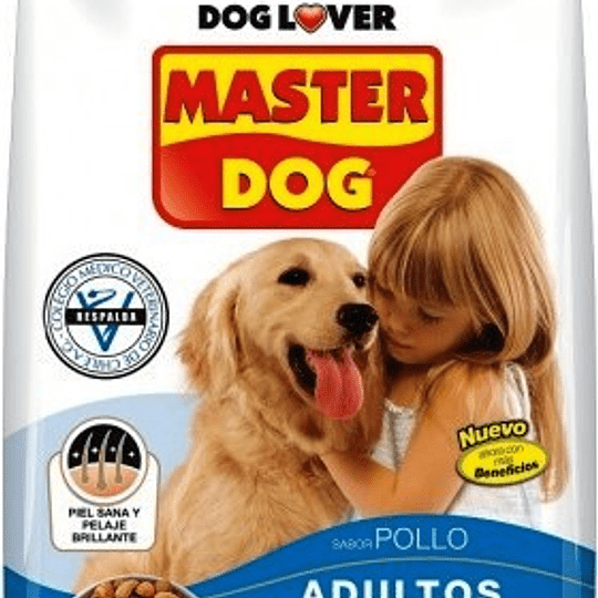 Master Dog Adulto (pollo) 18 Kg
