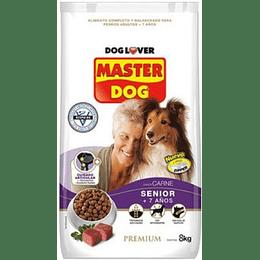 Master Dog Senior (carne) 8 Kg