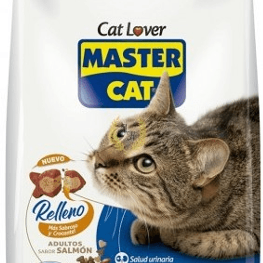 Master Cat Adulto (salmón - relleno) 20 Kg