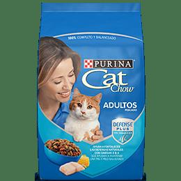 Cat Chow Adulto (pescado) 8 Kg