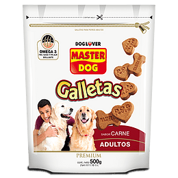 Master Dog Galletas (Adulto) Carne 500 g
