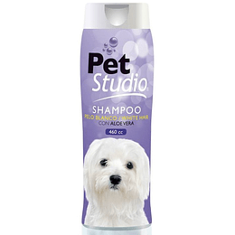 Shampoo Pet Studio Pelo Blanco 460 cc