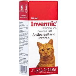 Invermic Antiparasitario en Gotas para Gatos 10 ml